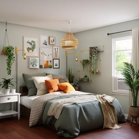 Cambia de forma sencilla la decoración de tu dormitorio con estas propuestas de lámparas de techo