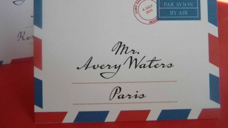 correo sobre carta