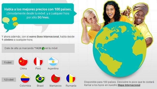 Nuevos Bonos Internacionales Vodafone