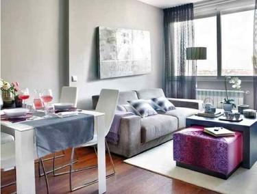 Puertas abiertas: un apartamento en rosa