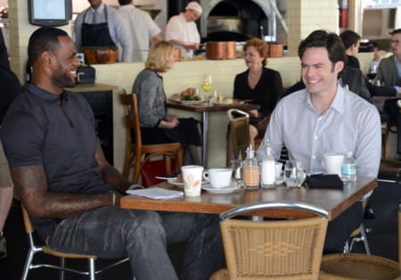 Lebron James y Bill Hader en