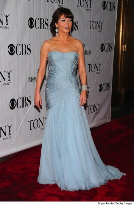 Todas las asistentes a los Tony Awards 2010: Caherine Zeta-Jones