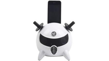 Un dock para iPhone/iPod que le dará un toque muy <em>cool</em> a tu salón