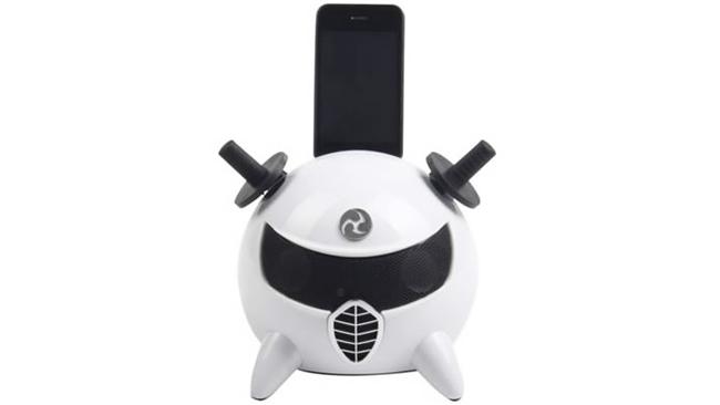 Un dock para iPhone/iPod que le dará un toque muy cool a tu salón