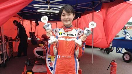 Juju Noda, la niña japonesa de 14 años que está batiendo los récords de Max Verstappen y apunta a la Fórmula 1