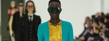 Gucci combina los looks masculinos con los más delicados en su desfile Primavera-Verano 2020