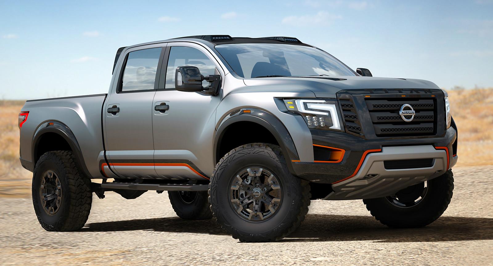 Una bestia llamada Nissan Titan Warrior Concept aporrea la ...