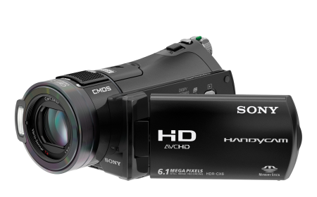 Videocámara Sony HDR-CX6EK graba solo en tarjeta de memoria