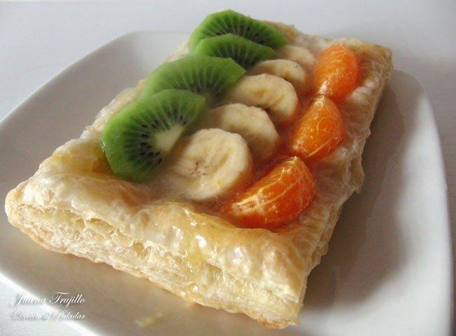 Postres f ciles y r pidos vii hojaldre de frutas - Postres con frutas faciles ...