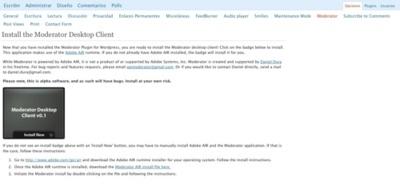 Moderator, moderando los comentarios de WordPress desde nuestro escritorio