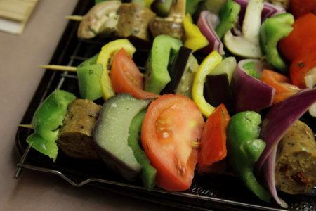 Consume verduras crudas, aunque sea una vez al día