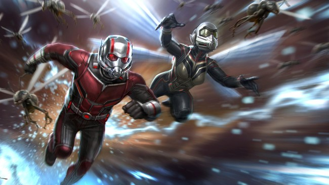 Ant Man And The Wasp Concept Art