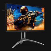 AGON AG273QZ: el nuevo monitor gaming de AOC que llega ofreciendo 240 Hz y un tiempo de respuesta de medio segundo