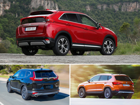 Eclipse Cross Vs Ateca Vs Cr V