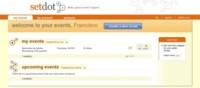 Setdot, herramienta para la planificación de eventos, lanzado públicamente