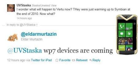 Nokia introducirá Windows Phone 7 en la gama de lujo Vertu