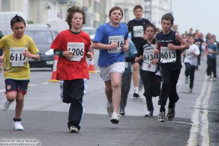 Los niños de hoy ya no corren como antes