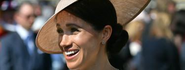 Enamoradas del moño bajo de Meghan Markle en su primer look tras su boda