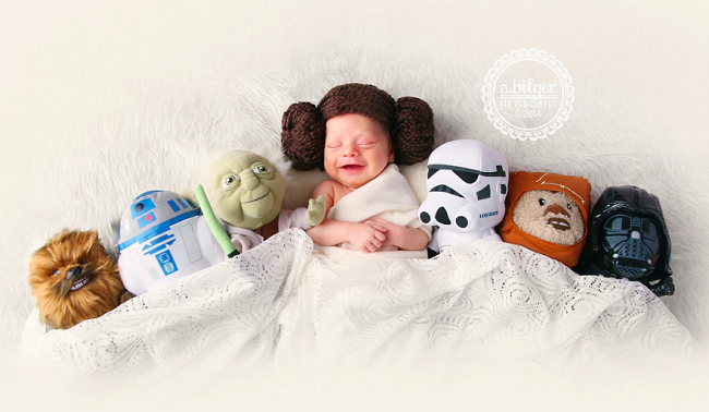 Geeky Newborn Baby Photography 33 650