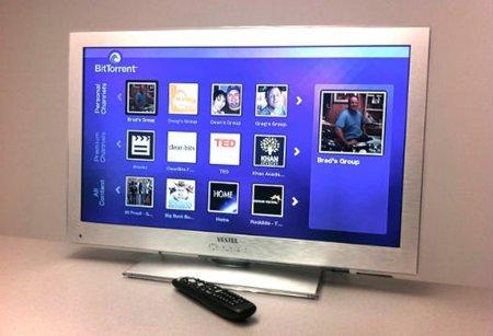 Presentan la primera televisión con tecnología BitTorrent incorporada