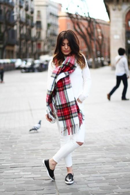 dulceida outfit blanco