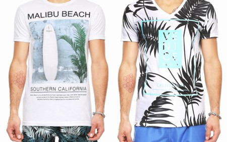 Camisetas Print Primavera Verano Lob Trendencias Hombre 2