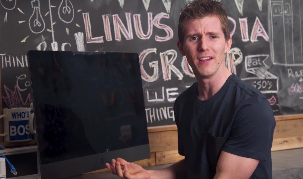 Linus Tech Tips Imac Pro Apple
