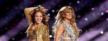 Todo al metalizado: los segundos looks de Jennifer López y Shakira en el espectáculo del descanso de la Super Bowl 2020