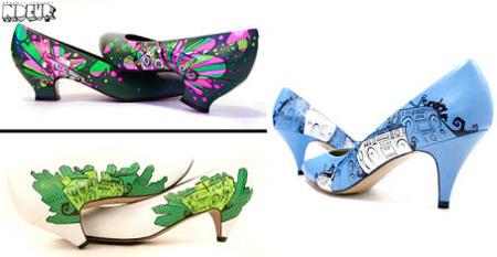 El arte en tus zapatos