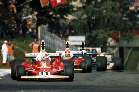 Regazzoni Lauda 1975