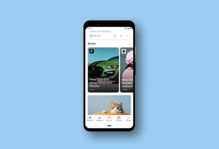 Las 'stories' inundan Google, llegan a la app para Android e iOS y a los resultados de búsqueda para mostrar noticias visuales
