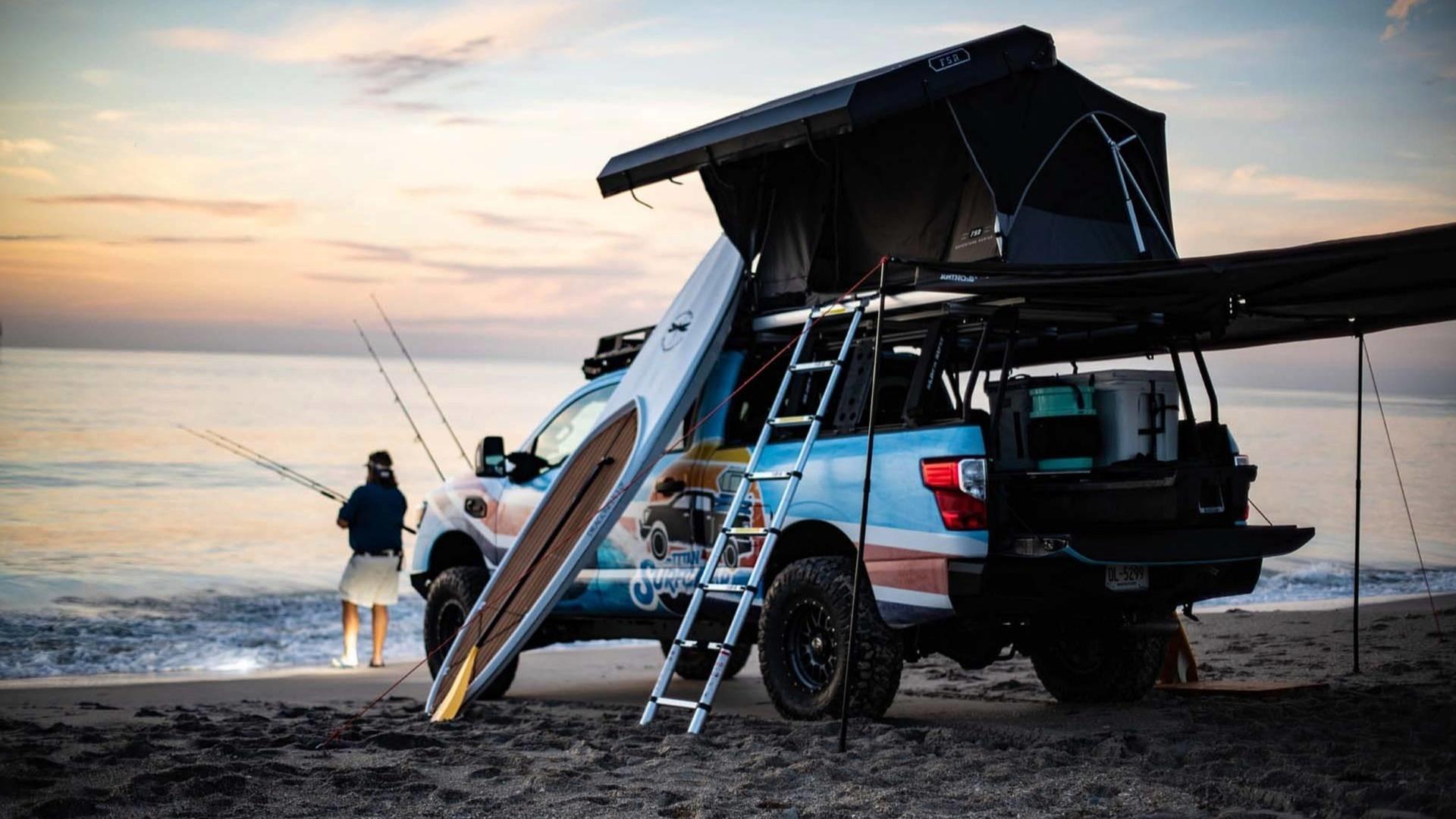 Foto de Nissan Titan XD Surfcamp (2/19)