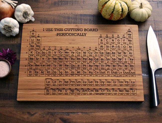 Unas tablas para cortar muy cient ficas - Como hacer una tabla para picar de madera ...