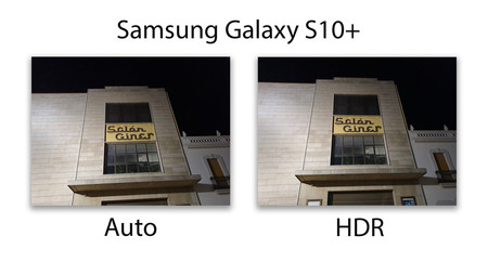 Samsung Galaxy S10plus Hdr Noche
