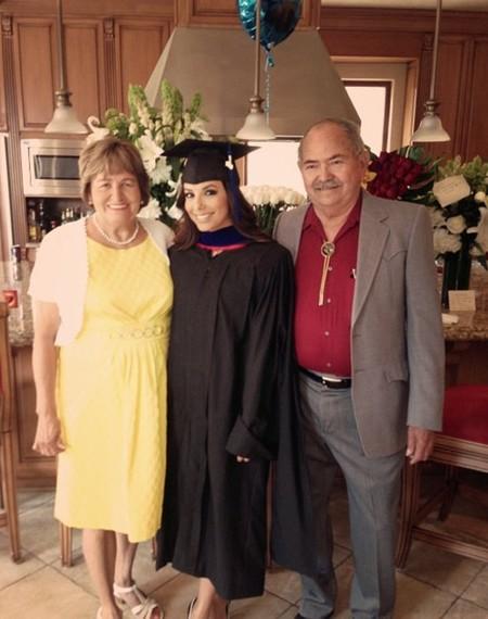 Eva longoria graduacion