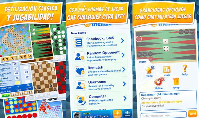 Juegos de mesa para iOS - reunidos