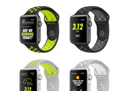 Las claves de la alianza Nike-Apple en Series 2