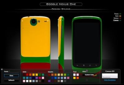 Customizando el Nexus One con Colorware