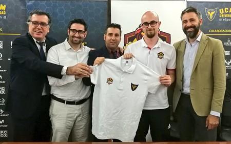 La UCAM recibe a otro jugador de esports que se beneficiará de su plan de becas