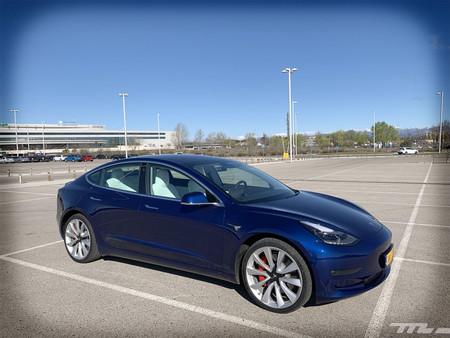 Tesla Model 3 Prueba exterior