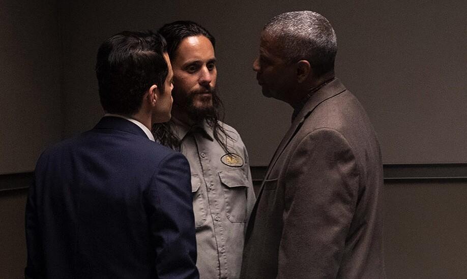Tráiler de 'Pequeños detalles': Denzel Washington y Rami Malek creen que Jared Leto es el asesino en serie que están buscando