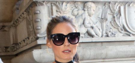 Olivia Palermo ya está en París ¡y con labios morados!