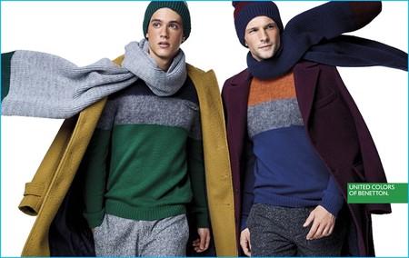 La colección otoño-invierno de Benetton se convierte en un must instantáneo con este cambio climático