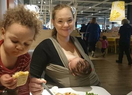 Le ordenan dejar de amamantar a su bebé de siete semanas en IKEA tras la queja de otro cliente