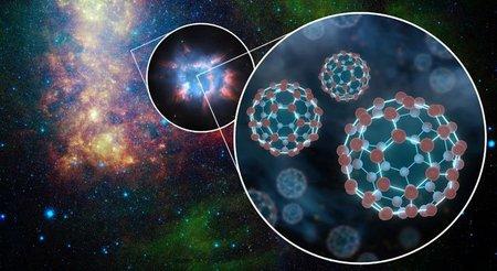 El espacio está lleno de buckyesferas