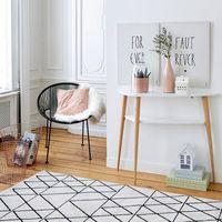 6 alfombras para vestir tu salón en oferta que encontrarás en La Redoute