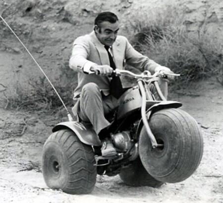 Connery Bond Honda Atc 90