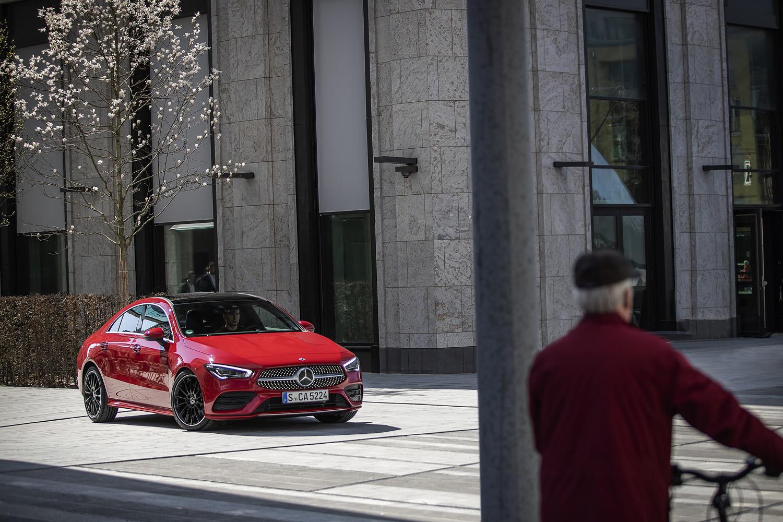 Foto de Mercedes-Benz CLA Coupé 2019, toma de contacto (228/248)