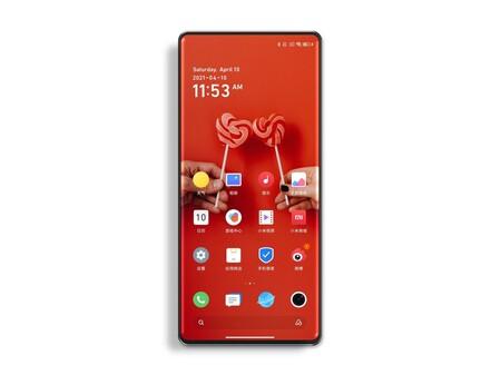 Xiaomi Mi Mix 4 Camara Bajo Pantalla Render