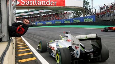 Button Brasil F1 2009